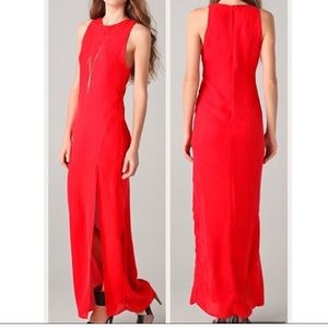 New Without Tags- Kelly Bergin Silk Poppy Dress